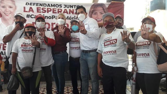 Es un hecho, logramos defender la esperanza en Mérida: Oscar Brito