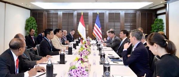 Di Pentagon, Prabowo Apresiasi Dukungan AS Dalam Modernisasi Pertahanan Indonesia