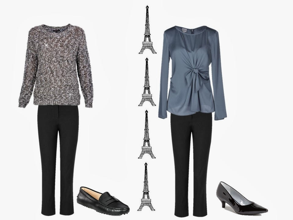 Dressy outfits to wear in Paris