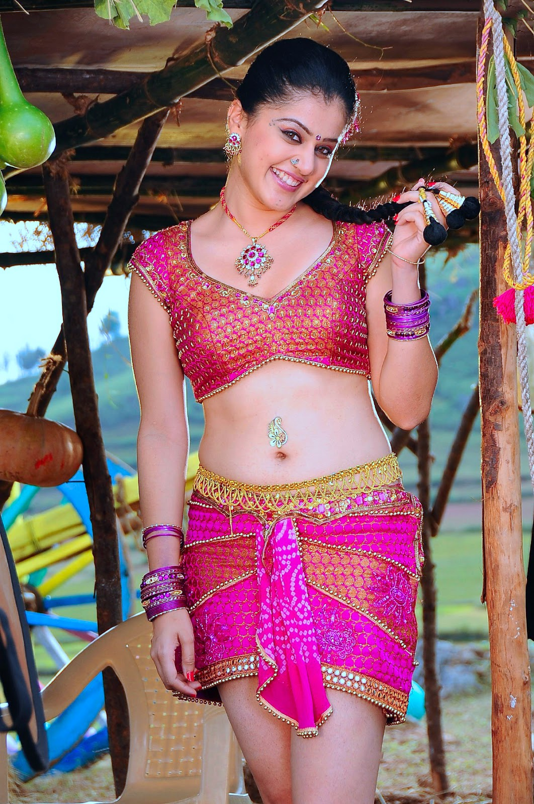 Tapsee Pannu's Incredible Pictures Hot Getup Navel and Milky Thighs