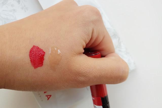Labial fijo mate rojo Deliplus 3