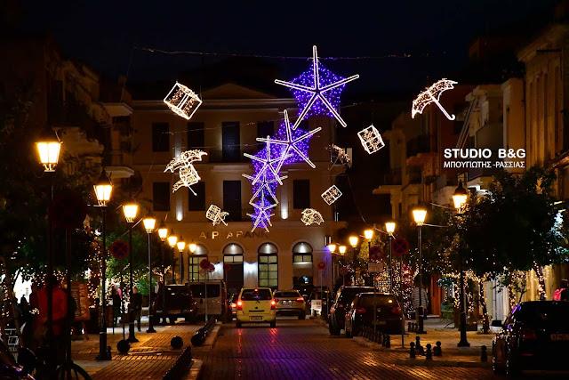 Ρεπορτάζ αφιέρωμα από την ΕΡΤ στο Χριστουγεννιάτικο Ναύπλιο (βίντεο)