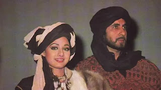 Sridevi rufuse to work with amitabh bachchan's film