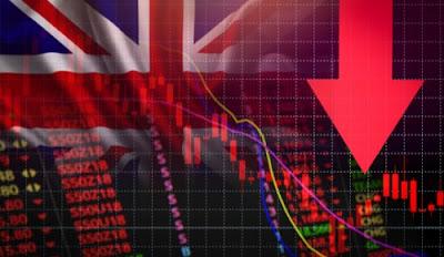 Ekonomi Inggris Jatuh