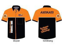 Desain Baju Jurusan Animasi SMK
