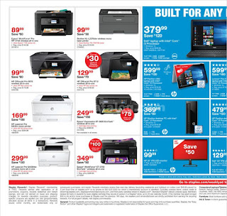 Staples Weekly Ad March 25 - 31, 2018