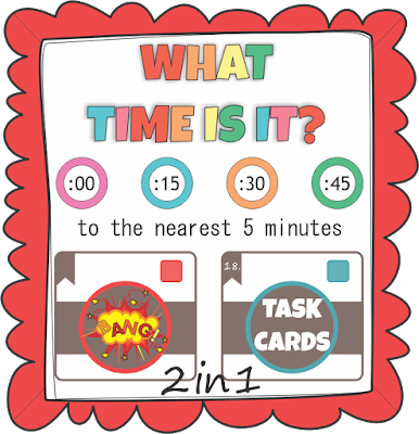 https://www.teacherspayteachers.com/Product/Telling-Time-Task-Cards-and-Bang-Classroom-Game-3040205