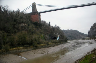 Days out in Bristol: Clifton Suspension Bridge viewed from below