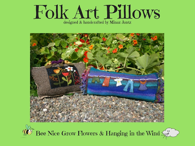 Folk Art Pillow Collection 2