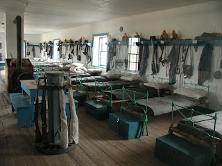 cavalry barracks interior
