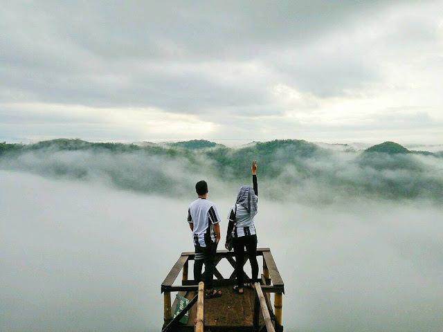 wisata di indonesia, bukit panguk jogja
