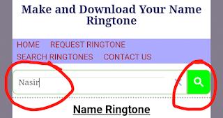 How To Make Own Name Ringtone