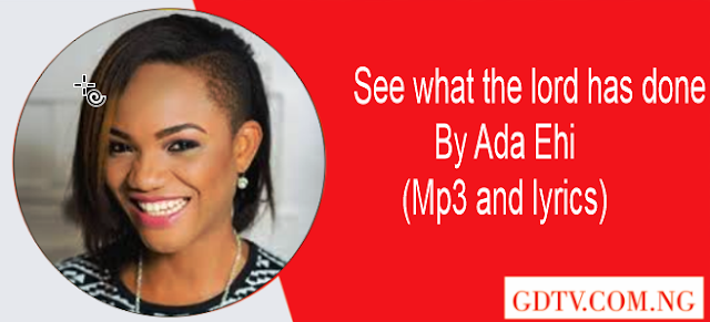 See what the lord has done lyrics by Ada Ehi