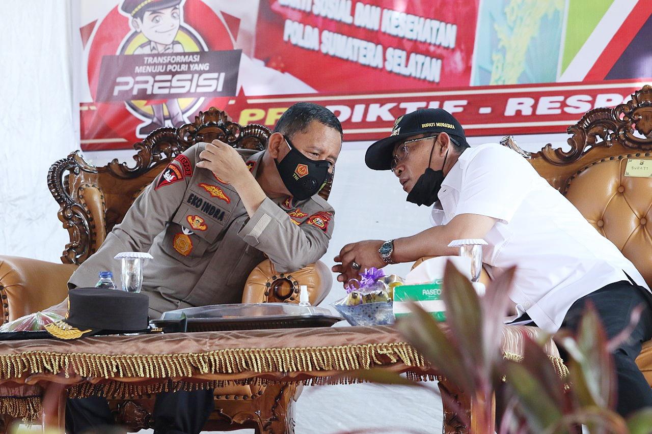 Kapolda Sumsel Irjen Pol Prof Eko Indra Heri
