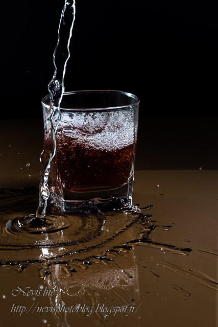 open flash verre et eau 1