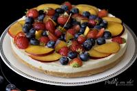 Logo Ricette economiche per risparmiare in cucina : Cheese Cake alla frutta senza cottura !