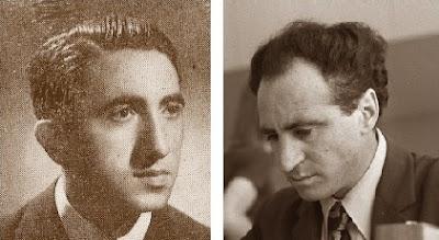 Los ajedrecistas Romà Bordell Rosell y Lev Abramovich Polugaevsky