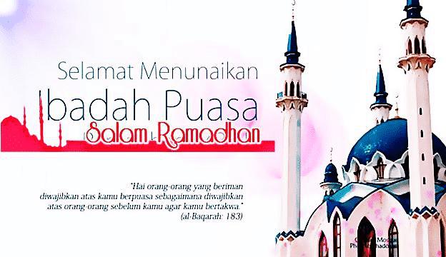 Selamat Menunaikan Ibadah Puasa Ramadhan 1442H/2021