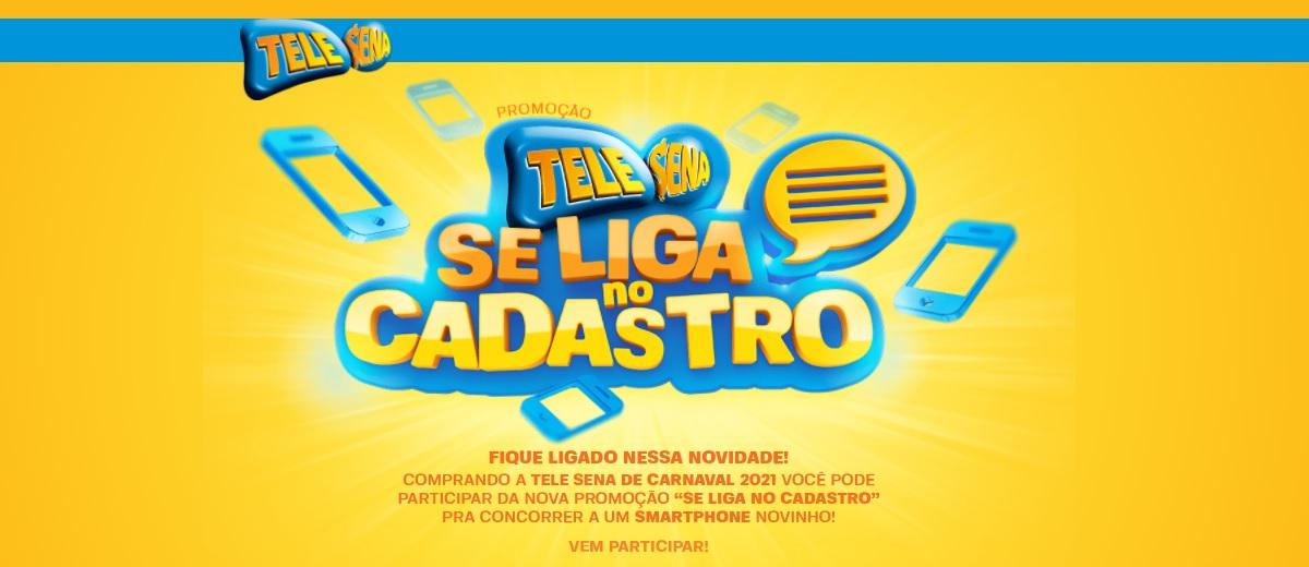 Participar Promoção Se Liga no Cadastro Tele Sena Carnaval 2021
