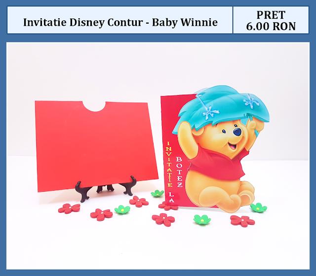 invitatii botez winnie the pooh