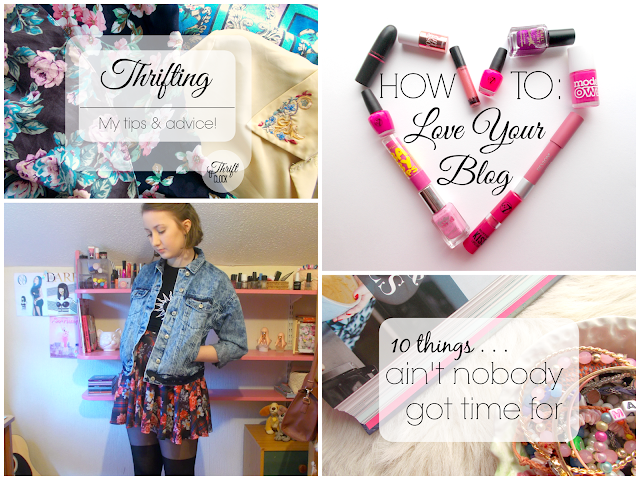 Thrift O'Clock - UK beauty, fashion & lifestyle blog with a thrifty theme!