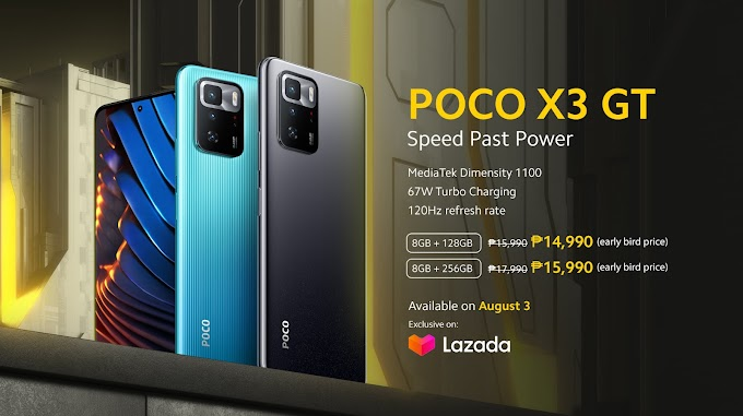 """""""Speed Past Power"""" in Pursuit of Extreme Performance with New POCO X3 GT"""