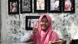 Lulu Il Asshafa Siswi Alumni SMA N 1 Purworejo, Video Hasil Karyanya Tayang di Stasiun TV Nasional
