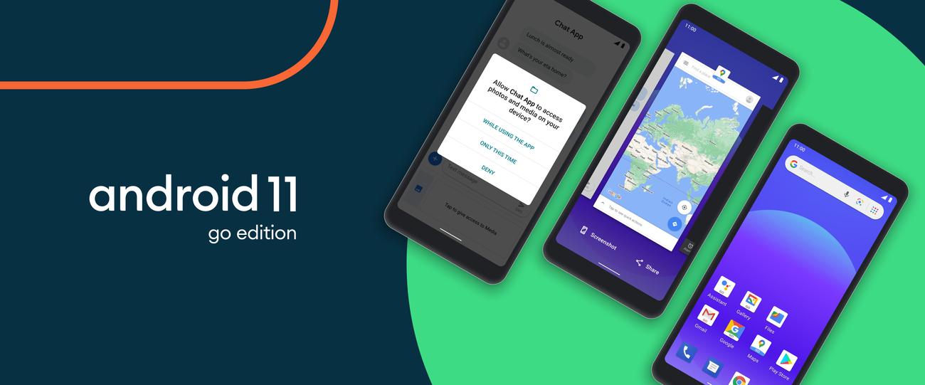 Android 11 Go Edition da più sprint agli smartphone economici