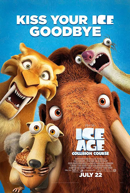 Poster Ice Age Collision Course (2016) Full HD Movie Download Hindi Dubbed