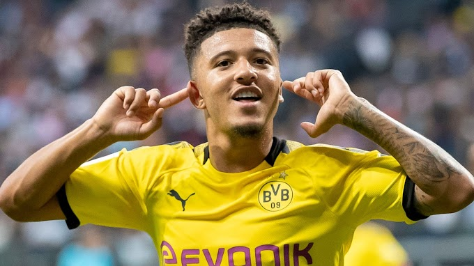 Source: United agree on £60m initial fee for Jadon Sancho
