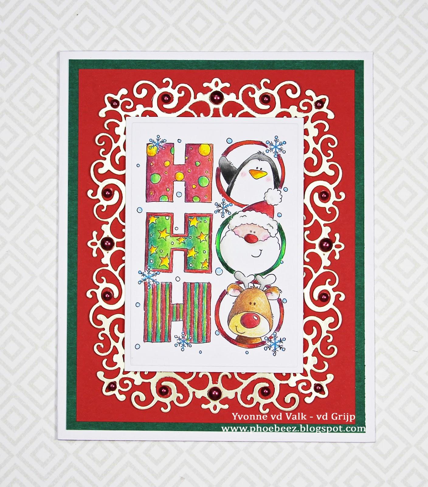 Phoebeez: LOTV: Ho Ho Ho....Christmas card