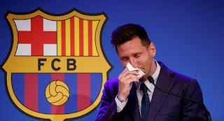 برشلونة في ورطة بعد رحيل ميسي إلى باريس سان جيرمان
