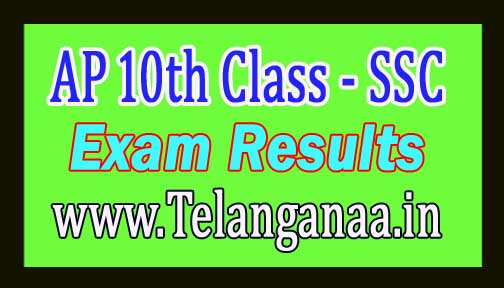Andhra Pradesh SSC Result 2017 AP 10th Class Results with Marks
