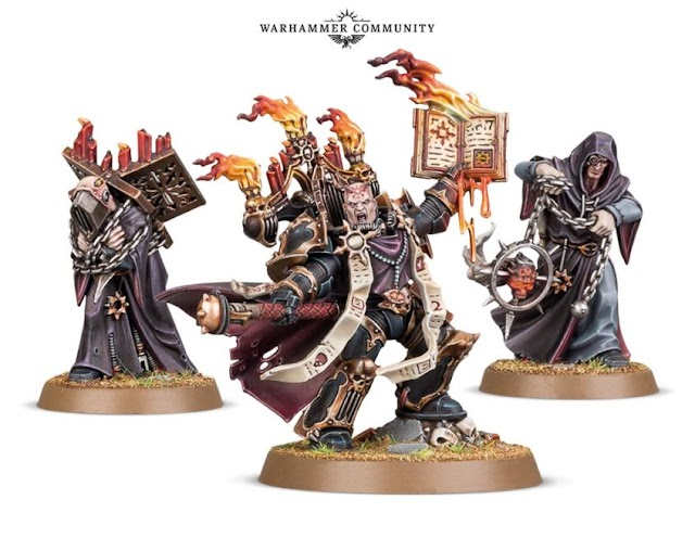 Amazing New Models Revealed: Dark Apostles and Disciples- Word Bearers