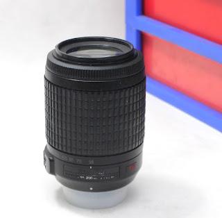 Lensa AF-S Nikon 55-200mm VR Bekas
