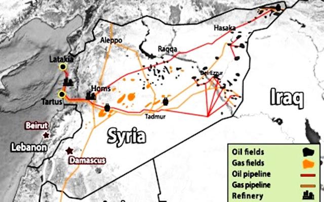 Η Συρία επανακτά τα κοιτάσματα πετρελαίου της