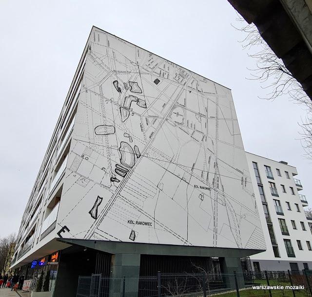 Warszawa Warsaw Ochota Rakowiec Szczęśliwice streetart muralart mural warszawskie murale