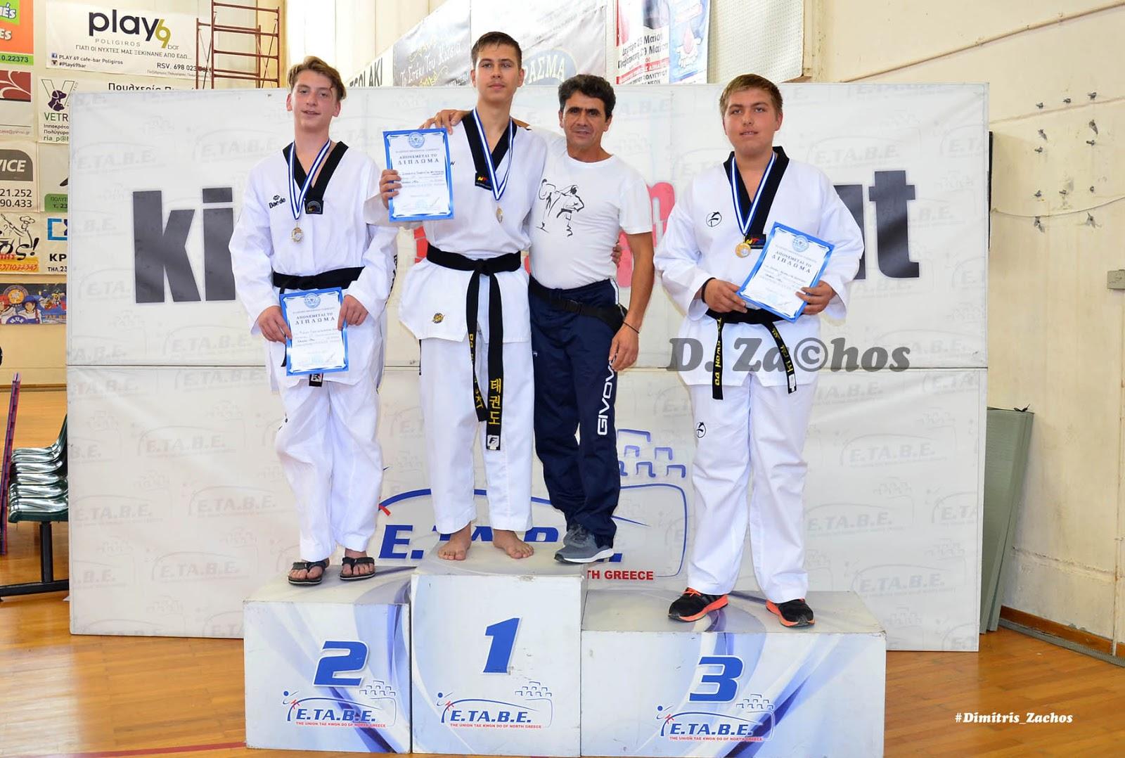 Συμμετοχή αθλητών του Α.Σ. TKD «Αριστοτέλης» στο Πανελλήνιο Σχολικό Πρωτάθλημα TKD 2018 στην Αθήνα.
