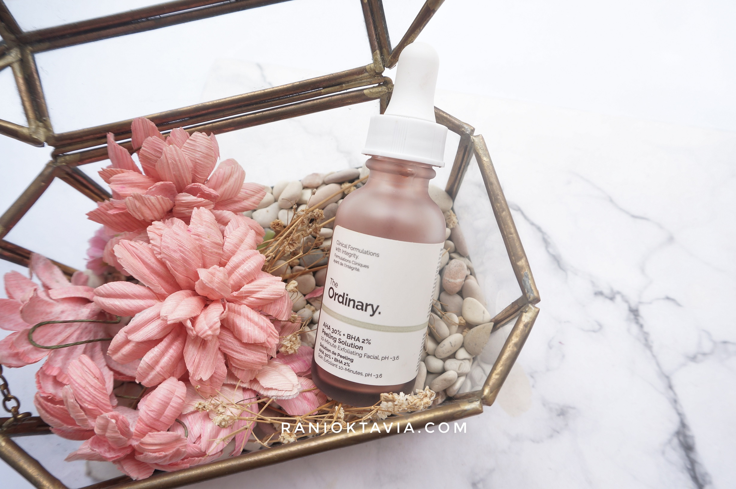 Review The Ordinary Aha 30 Bha 2 Peeling Solution Beauty Blog By Rani Oktavia