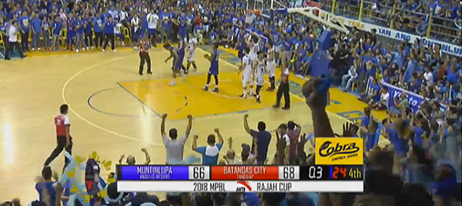 Batangas City Athletics def. Muntinlupa Cagers, 68-66 (REPLAY VIDEO) MPBL Finals Game 4 | April 19