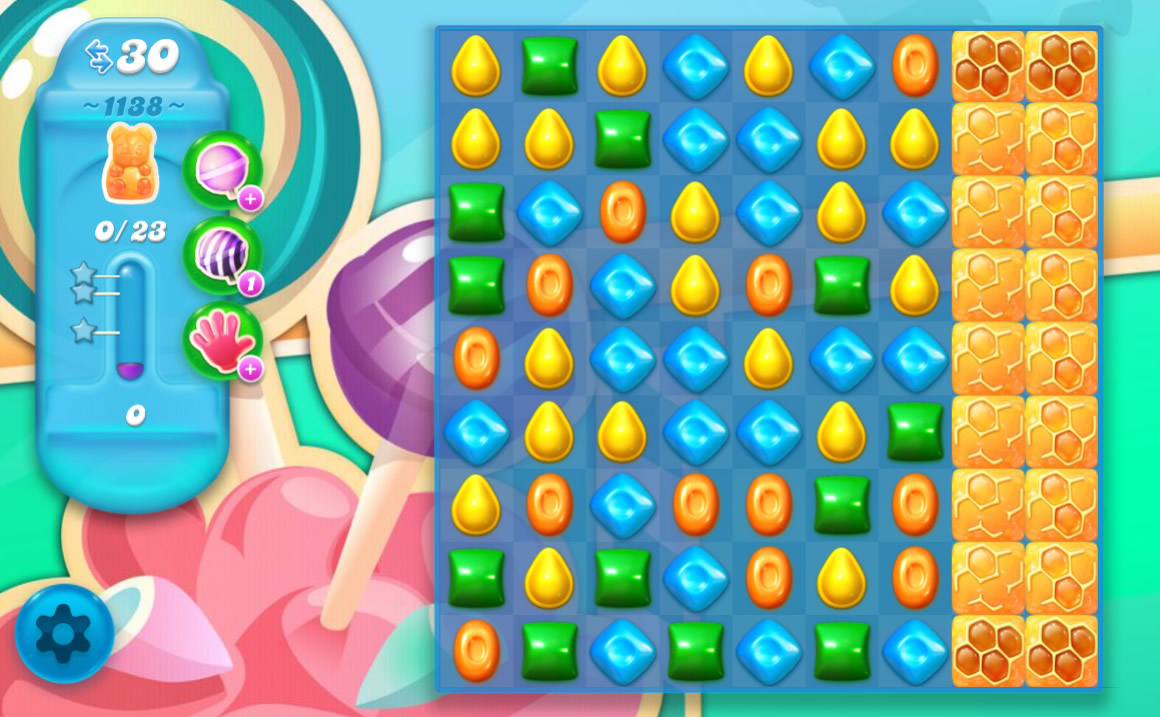 Candy Crush Soda Saga level 1138