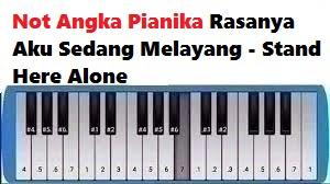 Not Angka Pianika Rasanya Aku Sedang Melayang Stand Here Alone Calonpintar Com