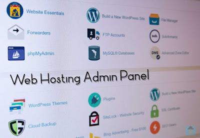 Web Hosting Admin Panel