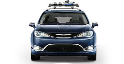 Chrysler Pacifica front view Hd Pictures