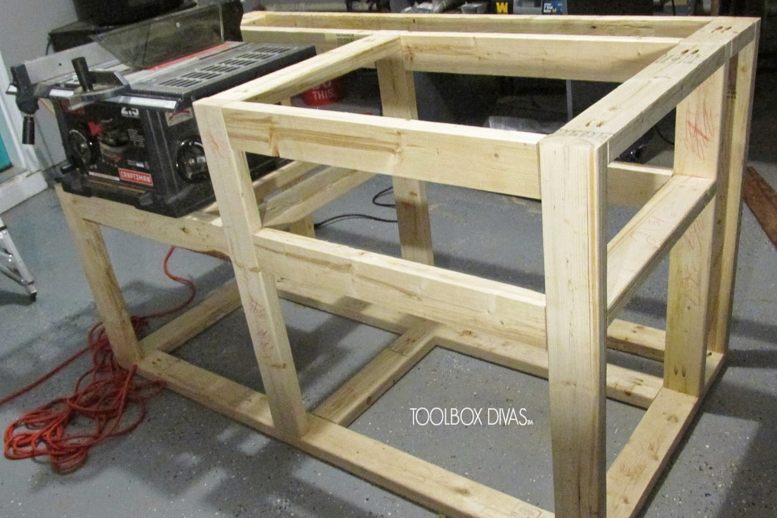 how to make table saw at home