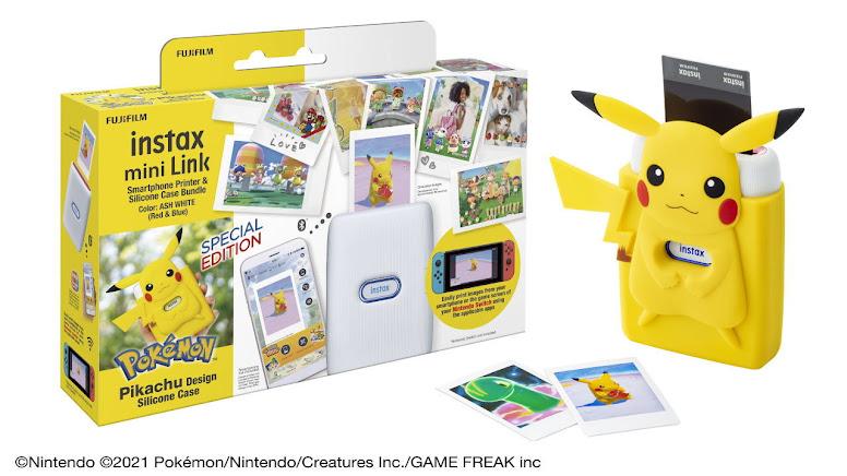 Instax Mini Link Pikachu Case