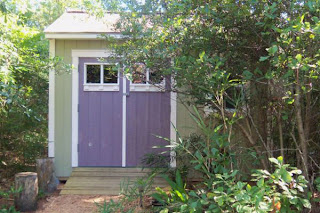 Nestled In The Backyard Foliage Of A Coastal North Carolina Home, Lies This  Recently Constructed Garden Tool Shed. Drawing Off Both Design And  Construction ...