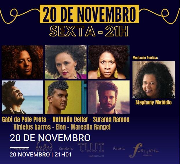 Pernambuco e Paraíba exaltam música e poesia negra na Ágora Sonora