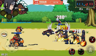 Download Naruto Senki v1.18 First 1 Apk Update Terbaru
