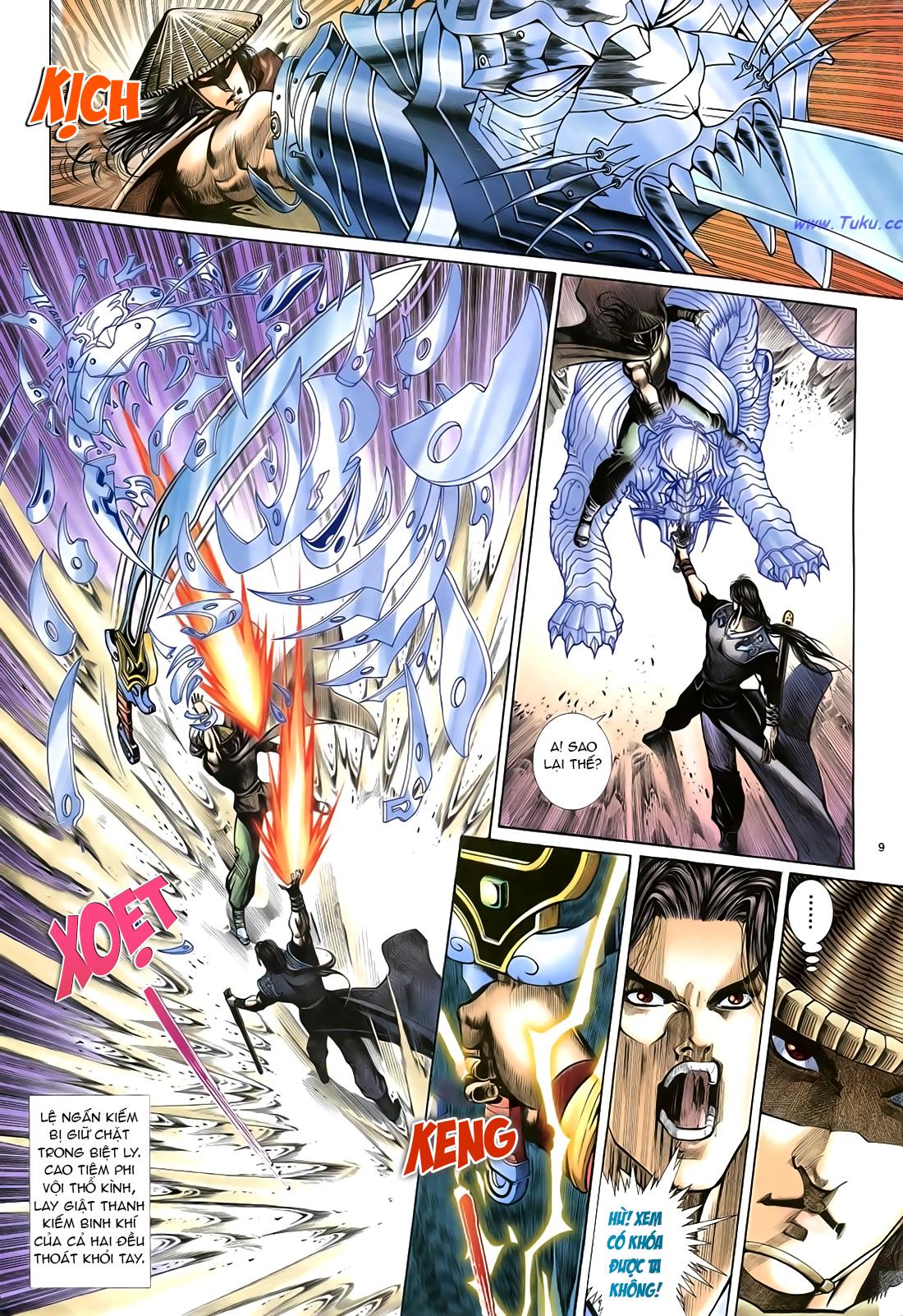 Anh hùng vô lệ Chap 21 trang 10